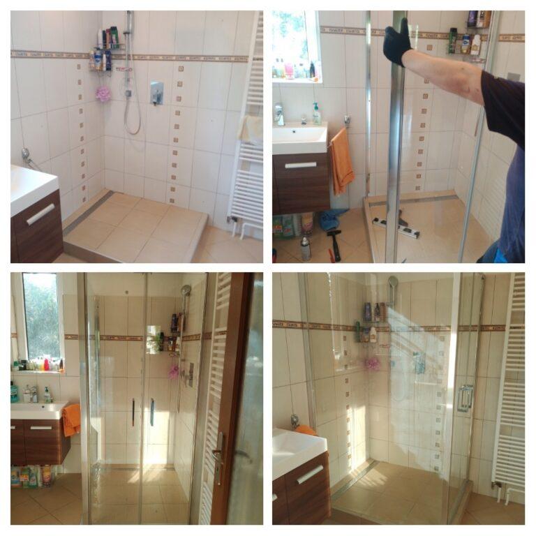 Montáž sprchové zástěny